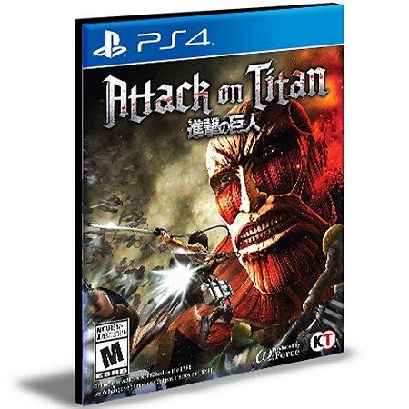 Attack On Titan Ps4 e Ps5  Mídia Digital Psn