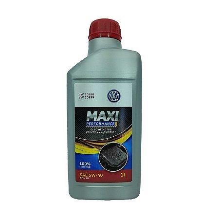 Oleo Original Vw Maxi Performance 5w40 Sn 100% Sintetico