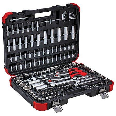 Jogo de ferramentas Gedore red kit com 172 Peças completo R45603172