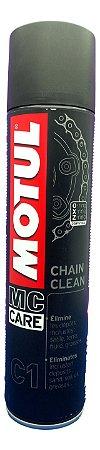 Motul C1 Chain Clean 400ml Spray Limpeza Corrente