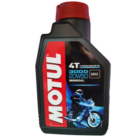 Oleo Motul 3000 P/ Moto Sae 20W50 Api SJ JASO MA2