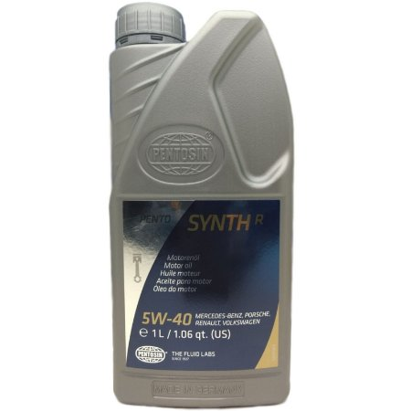 Oleo Pentosin Synth R SAE 5W40 API SN ACEA A3/B4-12