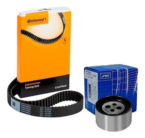 Kit Correia Dentada UNO 1.0 8V FIRE FLEX 2009 a Em Diante CONTI TECH / SKF