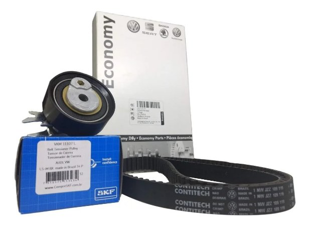 Kit Correia Dentada GOL G1 1.0 8V AT 1996 a 2005 VW / SKF