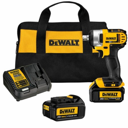 Chave De Impacto 20v 2 Baterias 3.0 Amperes Dewalt Dcf880L2-B2