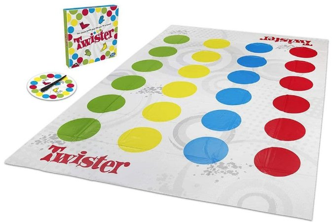 Jogo Twister - Nova Embalagem - Hasbro