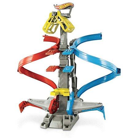 Pista de Percurso - Hot Wheels Action - Desafio da Altura - Mattel