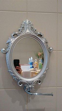 Espelho camarim Prata