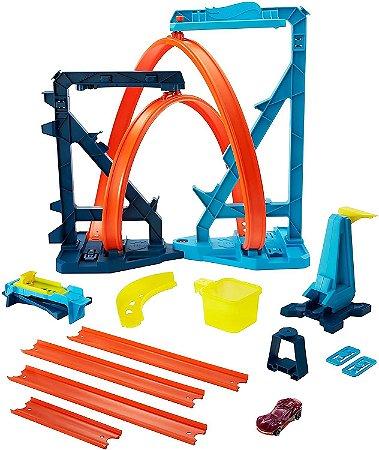 Pista Hot Wheels Loop Infinito Track Builder Gvg10 - Mattel