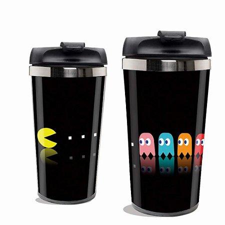 Copo Térmico Pacman.