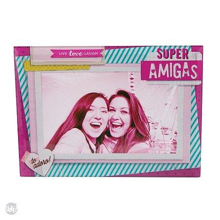 PORTA RETRATO RETANGULAR - SUPER AMIGAS.
