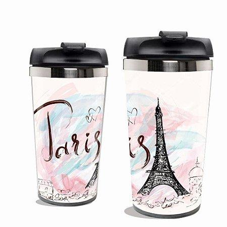 Copo Térmico Torre Eiffel  Paris.