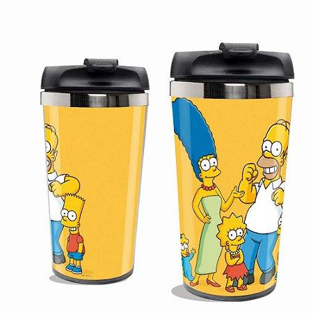 Copo Térmico Simpsons.