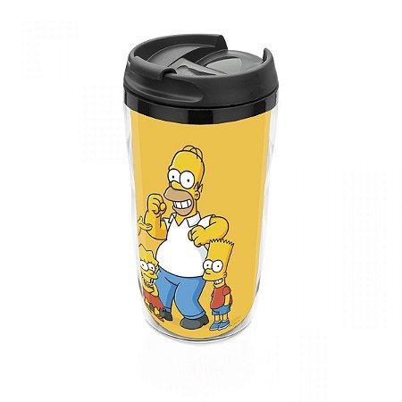 Copo térmico 250 ml Os Simpsons  pequeno