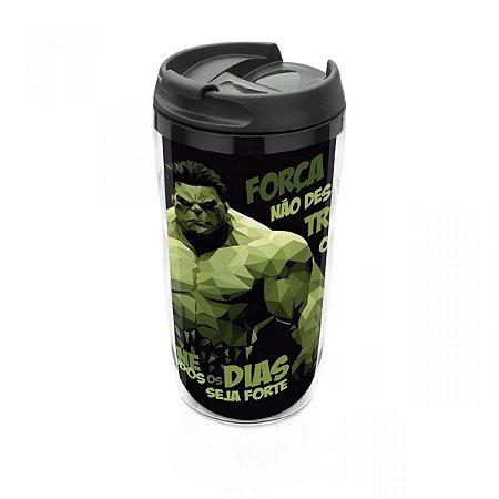 Copo térmico 250 ml Hulk  pequeno