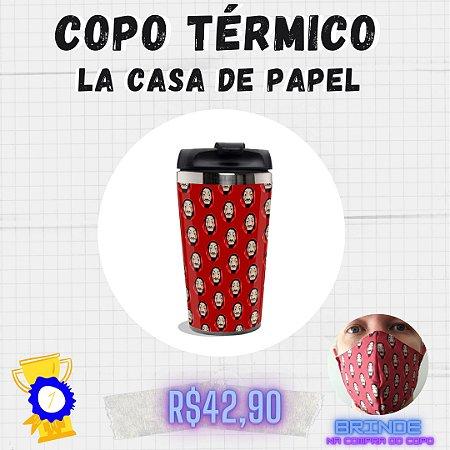 Copo Térmico La Casa de Papel.