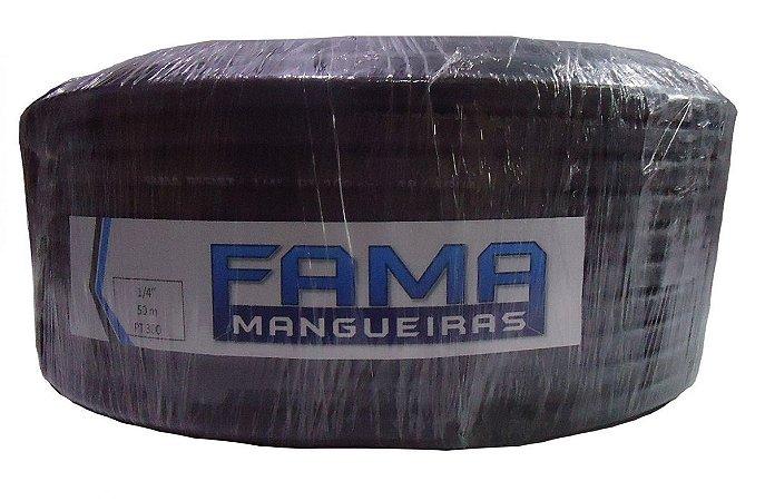 Manqueira Emborrachada Preta 300 PSI FAMA