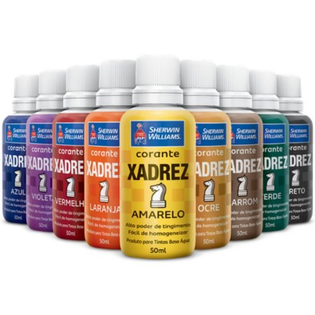 Corante Liquido 50ml Xadrez Sherwin Williams