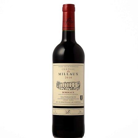Vinho Tinto Château les Millaux Bordeaux  2016