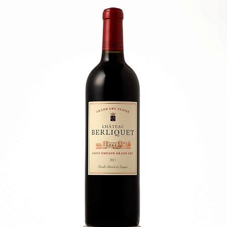 Vinho Tinto Chateau Berliquet Saint Émilion Grand Cru Bordeaux 2013