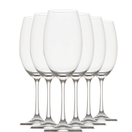 Jogo com 6 - Taça para Vinho Branco Cristal Bohemia 400ml