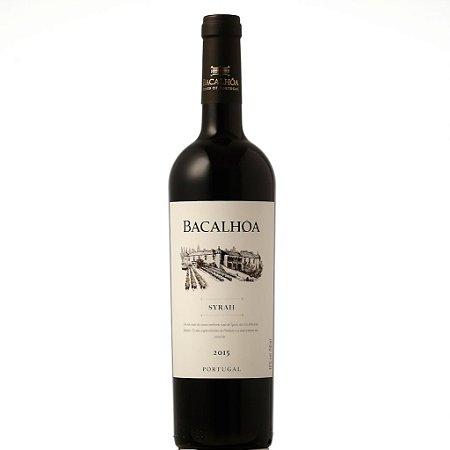 Vinho Tinto Bacalhoa Syrah Setubal DOC 2015