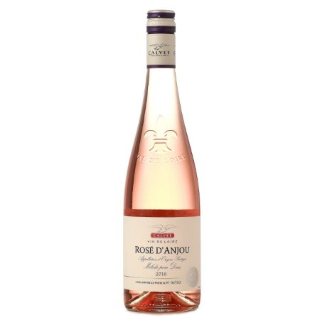 Vinho Rosé Calvet d'Anjou Loire Safra 2018