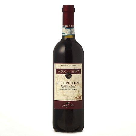 Vinho Tinto Montepulciano d'Abruzzo Amerigo Vespucci 2018