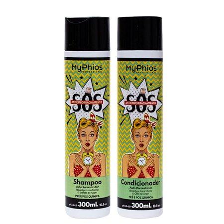 Kit Shampoo e Condicionador SOS Antiemborrachamento MyPhios