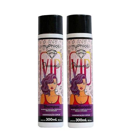 Kit Shampoo e Condicionador VIP DIAMANTE MyPhios
