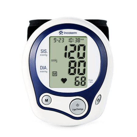 Medidor de Pressão Digital de Pulso Incoterm MP 100