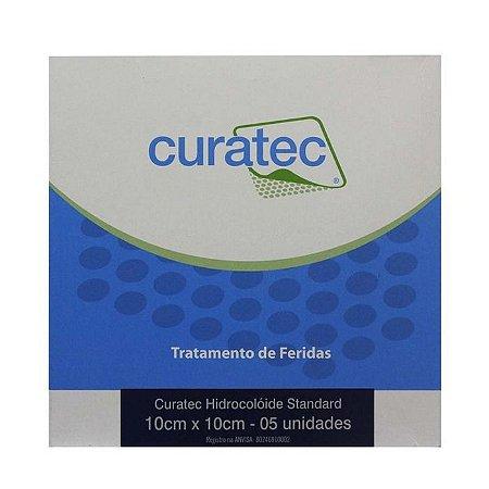 Curatec Hidrocoloide Standart 10 X 10 CM Cx com 05