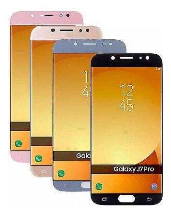 Tela Display Lcd Galaxy J7 Pro J730 J730g Com Brilho