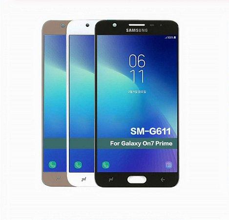 Tela Display Lcd Galaxy J7 Prime 2 G611m Com Brilho