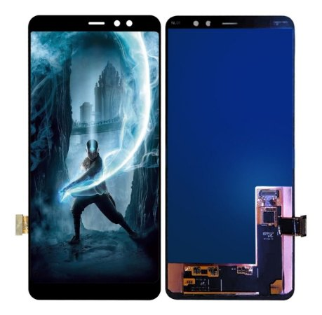 Tela Frontal Display Touch Galaxy A8 Plus A730 A8+