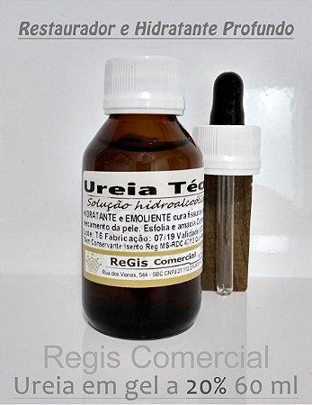Ureia Técnica (Emoliente + Hidratante) em Gel a 20% de Ativos