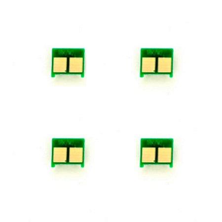 Kit 4 Chip para HP LRK L5 CB540A | CE250A | CE310A CMYK Universal