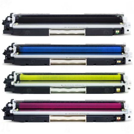 Kit 4 Toner para HP CP1025 | 310A | 311A | 312A | 313A CMYK Compatível