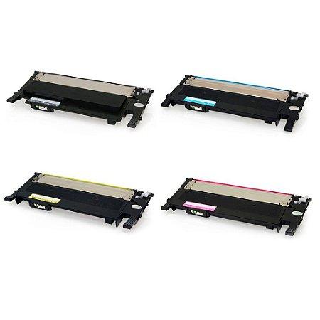 Kit 4 Toners para Samsung CLT-404S | C480W | C430W | CMYK Compatível