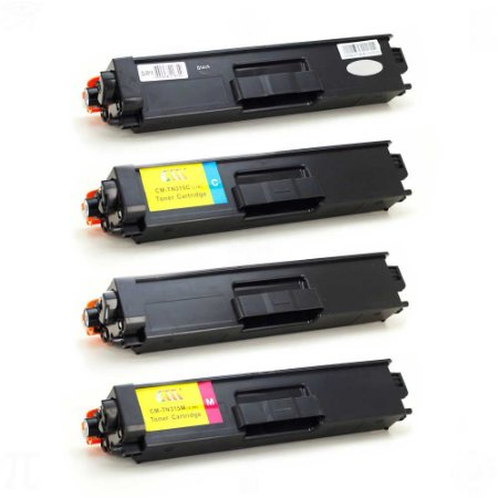 Kit Toner para Brother TN315/310 CMYK Compatível