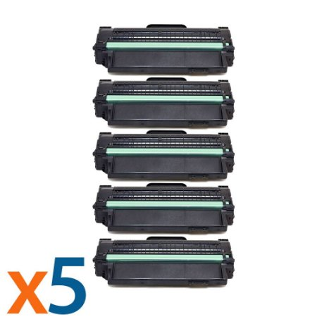Kit 5 Toners para Samsung SCX 4200 | SCX D4200A | SCX 4200A Compatível