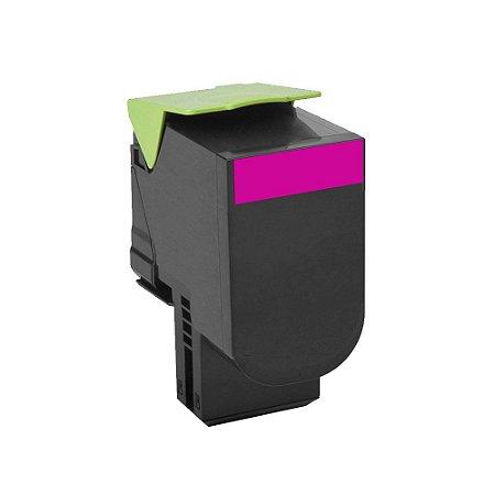 Toner para Lexmark C540   C543   C544   X543 Magenta Compativel 2K