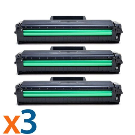 Kit 3 Toners para Samsung ML 2165   SCX 3400   MLT D101S Compatível