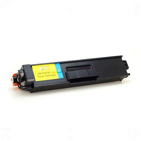 Toner para Brother TN315/310 TN315C Cyan 3,5k Compatível