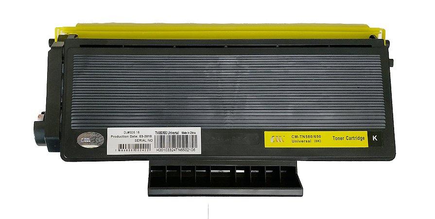 Toner para Brother MFC 8860DN | DCP 8060 | TN 580 | TN 650 Compatível