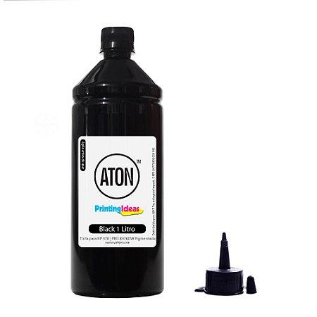 Tinta para HP 970   Pro X476DW   CN625AM ATON Black Pigmentada 1 litro