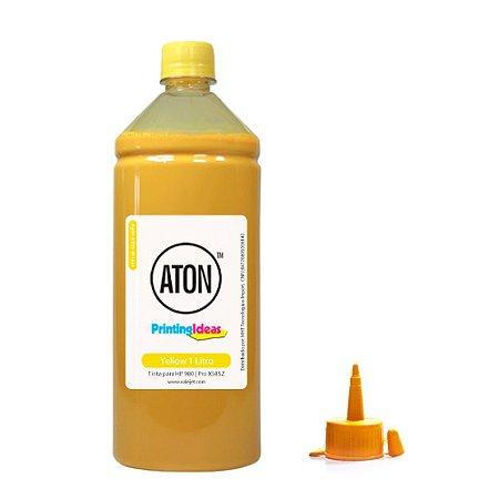 Tinta para HP 980 | Pro X585Z | X555DN ATON Yellow Pigmentada 1 Litro
