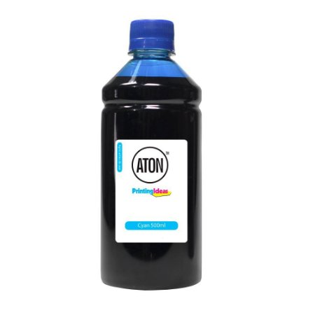 Tinta para Cartucho HP 60 Cyan 500ml Corante Aton