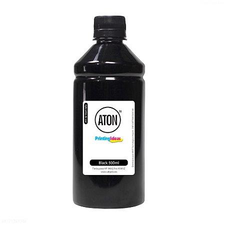 Tinta para HP 980   Pro X585Z   X585DN Black 500ml Corante Aton