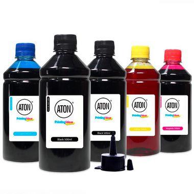 Kit 4 Tintas para Epson 269 CMYK 500ml + Black 500ml Pigmentada Aton